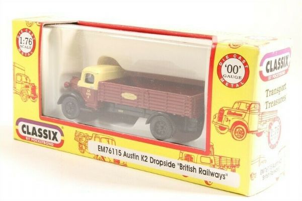Classix EM76115 1/76 OO Scale Austin K2 Dropside British Railways Eastern CC6331